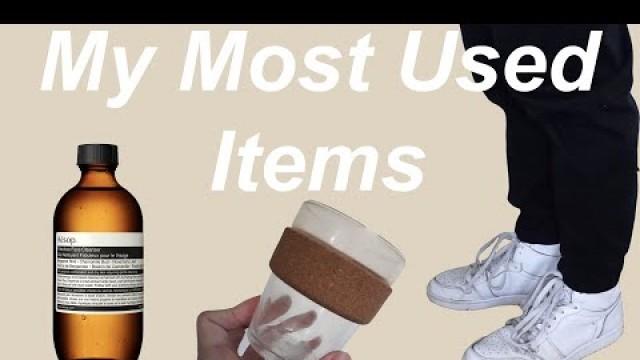 My Most Used Items   Aesop, Air Jordan, Coffee, etc