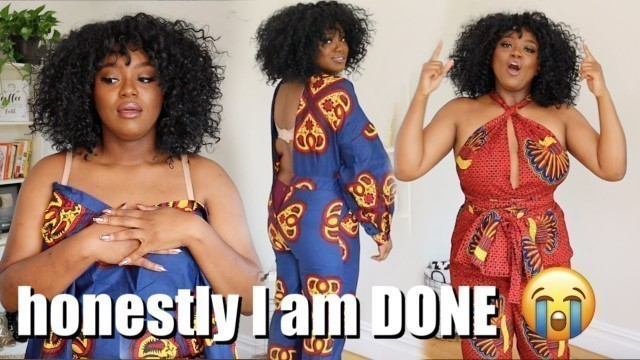 I TRIED BLACK OWNED FASHION BRANDS AND HONESTLY....