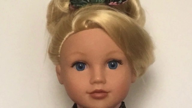 "Dressing American Girl doll & 18"""" dolls (EDO Girls): HAIRSTYLES CLOSE UP """"New Beginning"""" ドール着物"