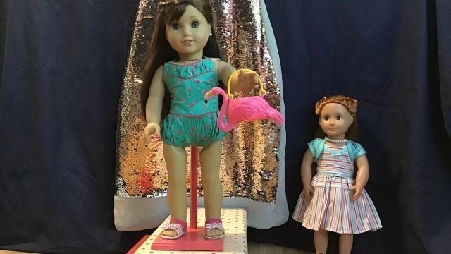 American Girl Maryellen's Fashion Show