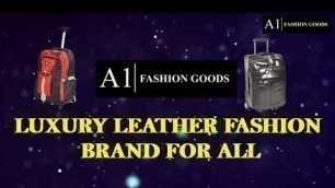 LUXURY LEATHER FASHION BRAND FOR ALL-A1FASHIONGOODS