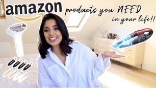 AMAZON PRODUCTS THAT MAKE YOUR LIFE EASIER! *beauty, home, organisation