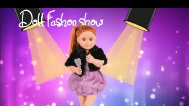 The fashion show! - Our generation dolls (animation)