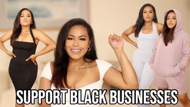 BLACK OWNED CLOTHING HAUL (BLACK OWNED FASHION BRANDS YOU NEED TO TRY!)