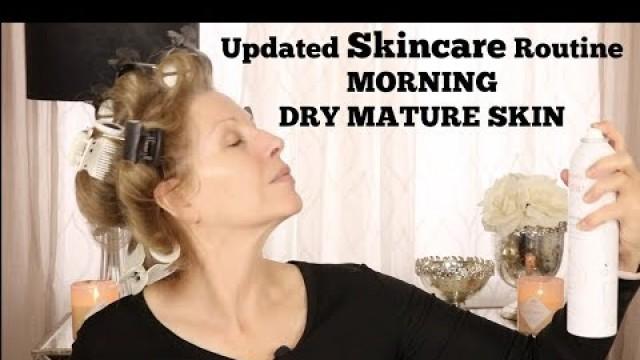 Skincare AM Routine | DRY SKIN | Mature Skin | Tammy's Ageless Beauty