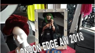 London Edge A/W 2018 - Alternative Fashion - Vegan edition