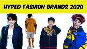 HYPED FASHION BRANDS OF 2020
