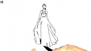 'Fashion Sketches Dresses   Learn How to Draw Fashion Sketches Step by Step'