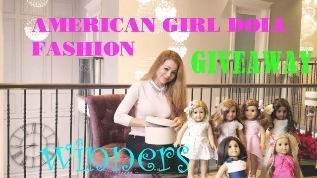 WINNERS ANNOUNCED! AMERICAN GIRL DOLL SPRING FASHION DRESSES GIVEAWAY