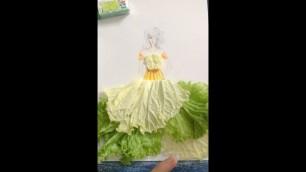 'How to Draw Evening Dress   Fashion Designer model Dress'