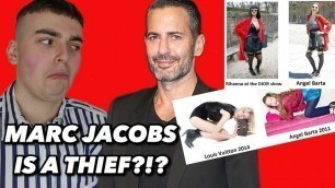 'Marc Jacobs & Louis Vuitton Have Been Stealing Designs For Years!?!? (Fashion Conspiracy Theory)'