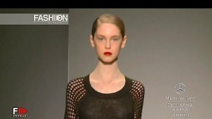 'GARY BIGENI Spring Summer 2012 2013 Australian Fashion Week - Fashion Channel'