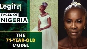 'Meet Madam Abimbola Idowu, the 71-year-old model | Legit TV'