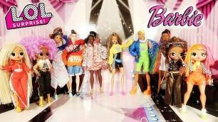 'LOL OMG Défilé de mode Barbie Fashion BMR 1959 toys and dolls story fashion show fr'