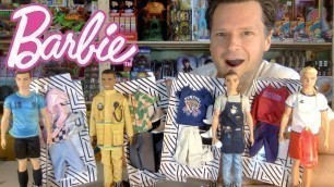 'CAREER KEN TAKES THE DAY OFF: NEW BARBIE 2019 FASHION PACKS UNBOXING REVIEW'