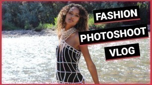 'Modeling Wearable Art in Fashion Photoshoot by Haute Couture & Avant Garde Designer. Vlog Style!'