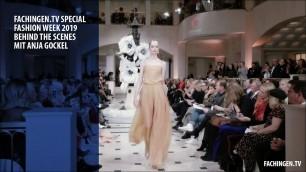 'Fashion Week 2019: Behind the scenes mit Anja Gockel'