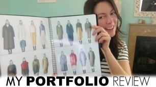 'My fashion design portfolio'
