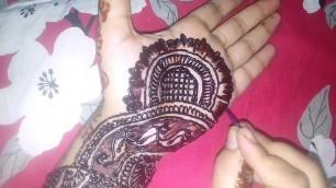 'Party mehndi design    Fashion Designing with Natasha    Beautiful henna design'