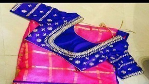 'Blouse Designs For Fancy Sarees | Latest Collection 2016 - 2017'
