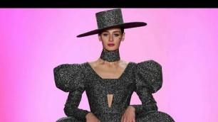 'CHRISTIAN SIRIANO Fall Winter 2020/2021 - New York Fashion Week   Full Fashion Show   Haute Life'