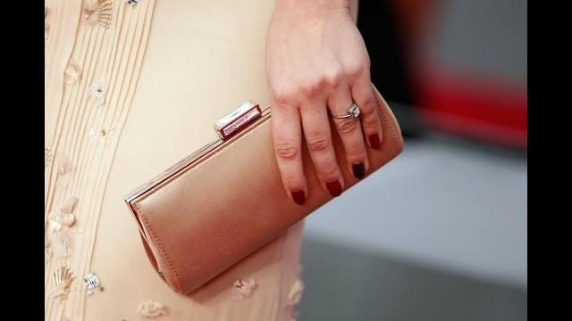 'Kaley Cuoco Inspired Nails: Two Toned Manicure People\'s Choice Awards Host 2012'