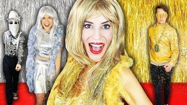 'Giant GOLD VS SILVER Fashion Show at Home to Reveal $10,000 Winner - Rebecca Zamolo'