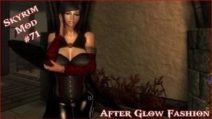 'The Elder Scrolls V: Skyrim - After Glow Fashion For CBBE V3 Mod'