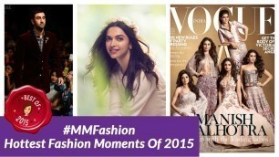 'The Biggest Fashion Moments Of 2015'