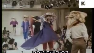 '1970s Karl Lagerfeld Backstage at Paris Fashion Show'