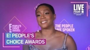 'How Tiffany Haddish Draws Inspiration From Herself | E! People's Choice Awards'