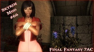 'The Elder Scrolls V: Skyrim - Final Fantasy 7AC Clothes For CBBE V3 Mod'
