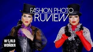 'FASHION PHOTO RUVIEW: RuPaul\'s Drag Race UK Series 1 Episode 5'