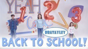 'Back-to-School 2015 with Bratayley | Fashion Show and School Supply Haul'