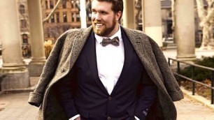 'Meet the Top 3 Faces of Plus-Size Male Modeling'