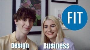 'FASHION SCHOOL Q&A (Fashion Institute of Technology: Fashion Business vs Design, friends, dorming)'