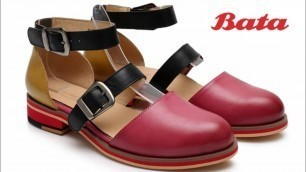 'Bata women shoes design best casual sandals collection chappal for ladies'