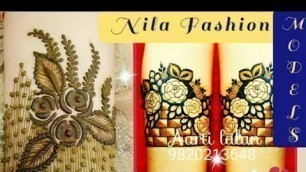 'Simple Bangle Mehndi Design Collections | Nila fashion Models'