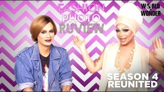 'RuPaul\'s Drag Race Fashion Photo RuView with Raja and Raven: Season 4 Reunited'