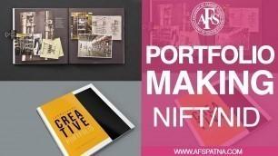 'Portfolio Making | NIFT/NID Entrance Exam Preparation'