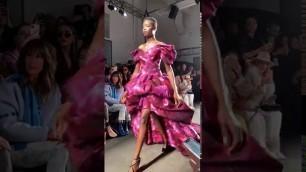 '#NYFW: Pamella Roland Fall Winter 2020 / New York Fashion Week #PamellaRoland #FW20 Feb. 7th, 2020'
