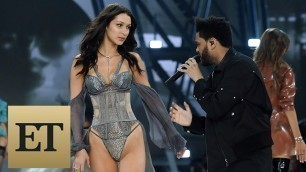 'Bella Hadid Reunites With Ex-Boyfriend The Weeknd on Victoria\'s Secret Runway -- See the Sexy Pic…'