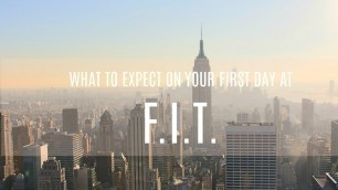 'What to expect on the first day of school?!? | FASHION INSTITUTE OF TECHNOLOGY'