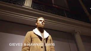 'Gieves & Hawkes Fall/Winter 2016/2017 Menswear Collection - London Fashion Week'