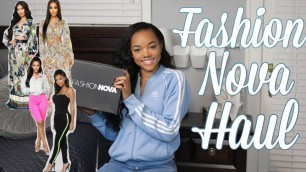 'FASHION NOVA TRY ON HAUL 2019'