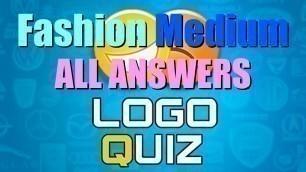 'Jinfra Logo Quiz - Fashion MEDIUM 32/32 level ANSWERS Walkthrough HD'