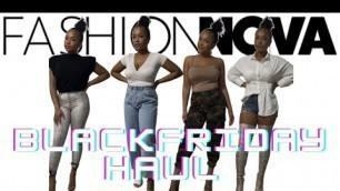 'fashion nova x black friday 2020 sale try on haul'