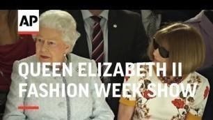 'At 91, Queen Elizabeth II Attends First Fashion Week Show - 2018'