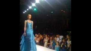 'nikolaki 2011 collection at OC fashion week'