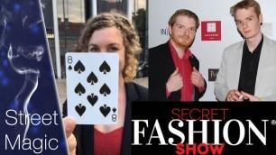'Secret Fashion Show meets Enjoy Magic'